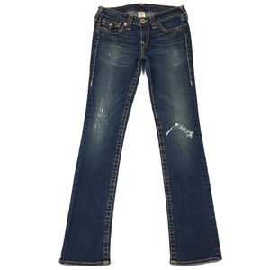 True Religion Billy Big T Straight Leg Jean
